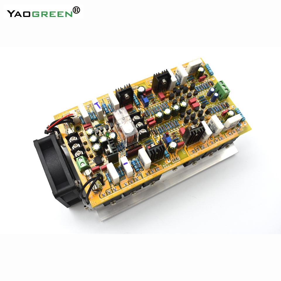 hifi 2 .0 A class stereo amplifier audio dual channel high amplificador 600W*2 high power amplifier board E5-002 цена