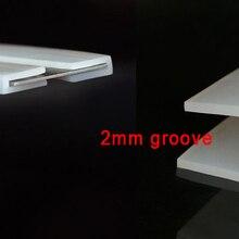 2 мм U groove силиконовый u-бар силиконовый u уплотнение стекло и сталь силикагель связывания бампер полосы u-формы