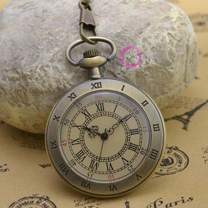 Фото fashion quartz man pocket watch alloy men