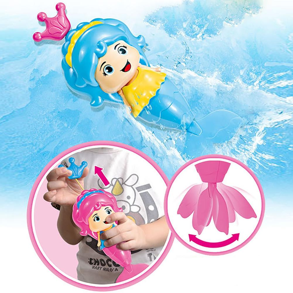 LeadingStar Swimming Toy, Wind-up Swimming Bathtub Toys Educational, Designed for Toddlers, Kids, Babies, Random Color zk25
