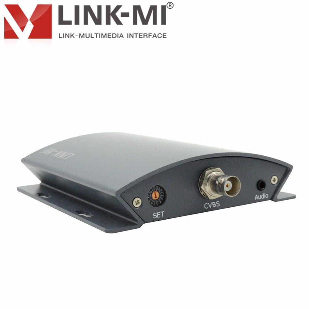 Kutia e konvertuesit profesional LINK-MI LM-PCS01 CVBS / AV në 3G / - Audio dhe video në shtëpi - Foto 2