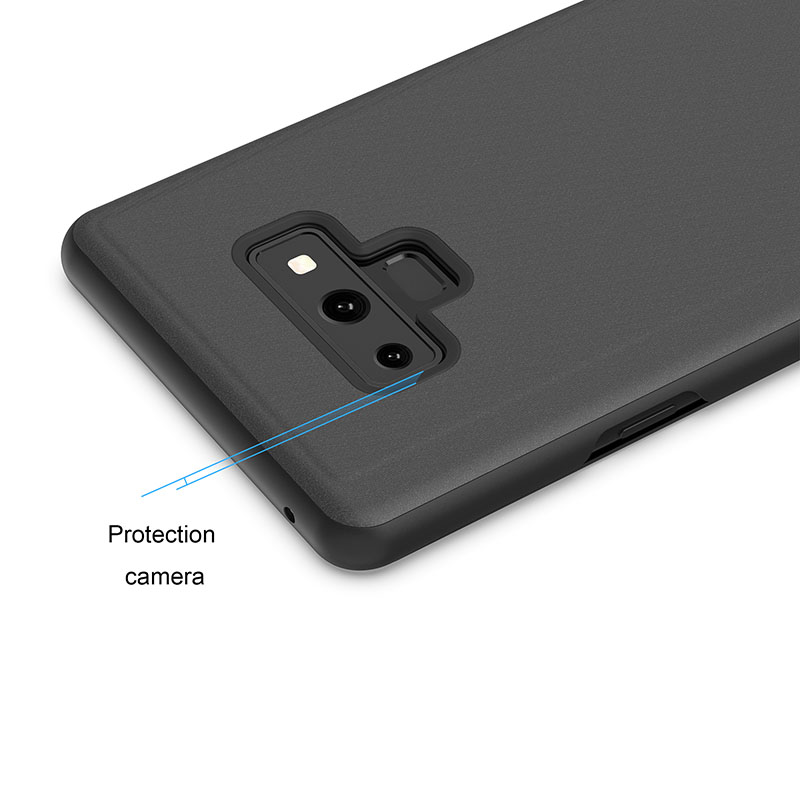 KEFO Luxury Clear View Mirror Smart Case For Samsung Galaxy Note 9 Flip Stand Case For Samsung Galaxy Note9 Note9 Cover Coque    (8)
