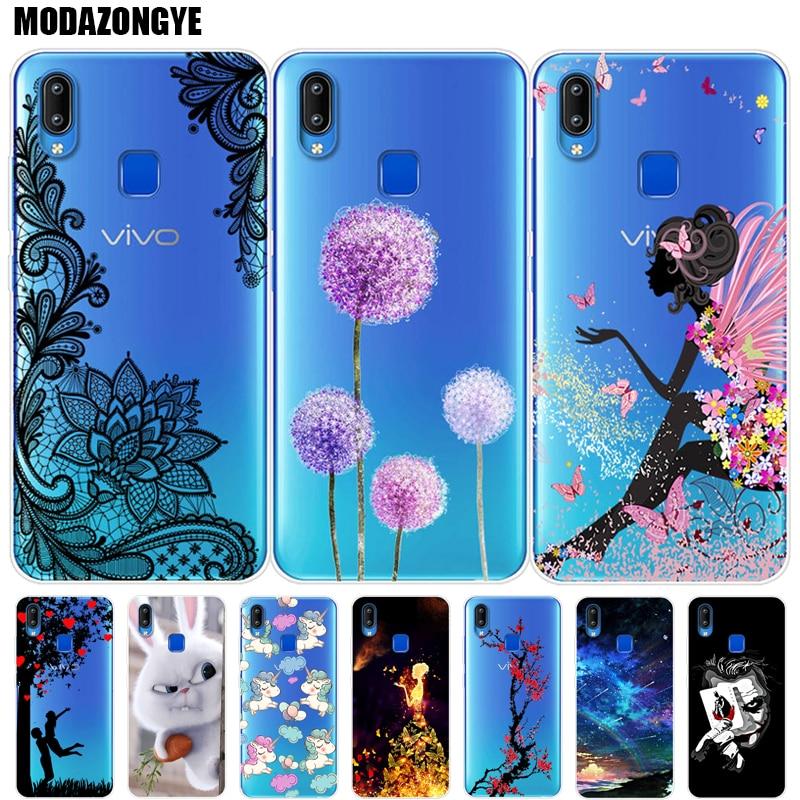 Case Vivo Y93 Lite Phone Case Vivo Y93 Lite Cover Vivo Y93 Lite Y 93 VivoY93 lite Case Silicone Soft TPU Back Cover 6.22 inch