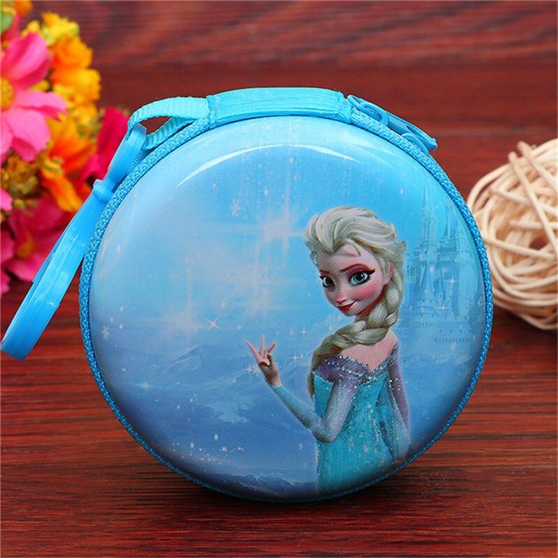 Лидер продаж, кошелек для монет с героями мультфильмов, Эльза, Анна, принцесса, чехол для ключей для девочек, кошелек, детский Снежная королева, гарнитура, сумка для монет - Цвет: K