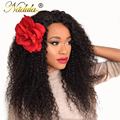 7A Unprocessed Brazilian Curly Virgin Hair 3 Bundles Brazilian Virgin Hair Curly Nadula Products Brazilian Human Hair Extentions