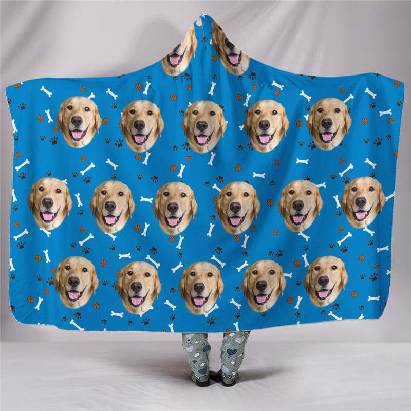 Custom-blanket-puppy-face-photo-blue