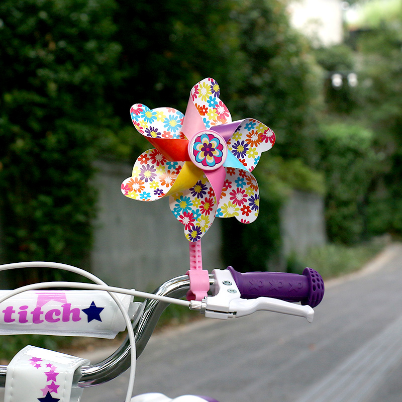 Drbike Plastic Flower Windmill Wind Toy Spinners para bebés niños - Ciclismo