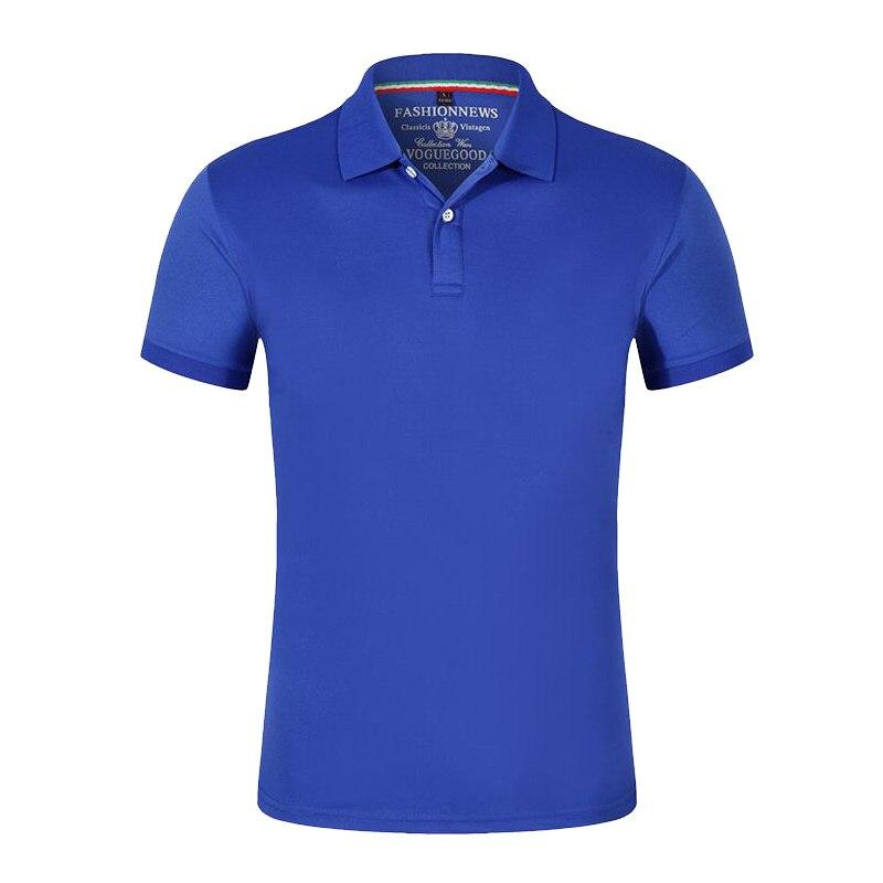 2019 Men Polo Shirt Brand Mens Solid Color Polo Shirts Camisa Masculina Men's Casual Cotton Short Sleeve Polos Collar Shirt