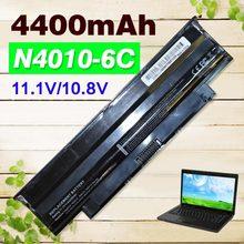 4400 мАч Батарея N4010 для Dell Inspiron N5110 13R 14R 15R 17R N4110 N5010 N5030 N7010 N7110 M411R M501 M5010 N3010 N3110