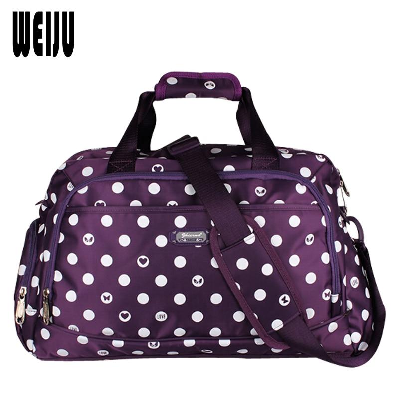 New Dot Women Travel Duffle Bag 2016 Fashion Large ...