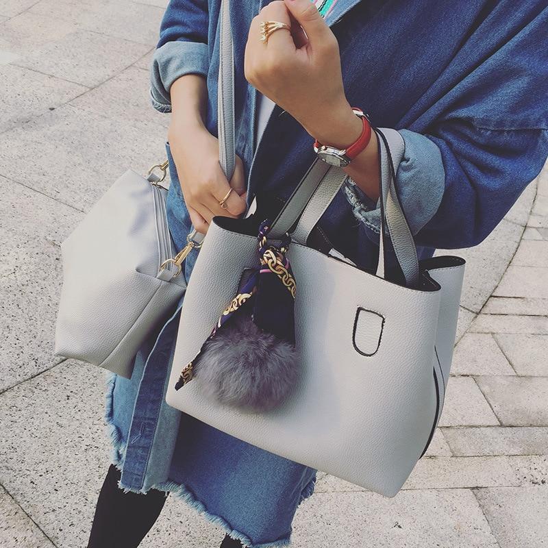 mulheres 2017 bolsas de couro Main Material : PU Leather