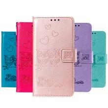 2019 New Owl Flip Wallet Case For Xiaomi Redmi 7A K20 5 Plus Note 7 note Pro Cover Mobile Leather Bag Xiomi Mi 9T PRO