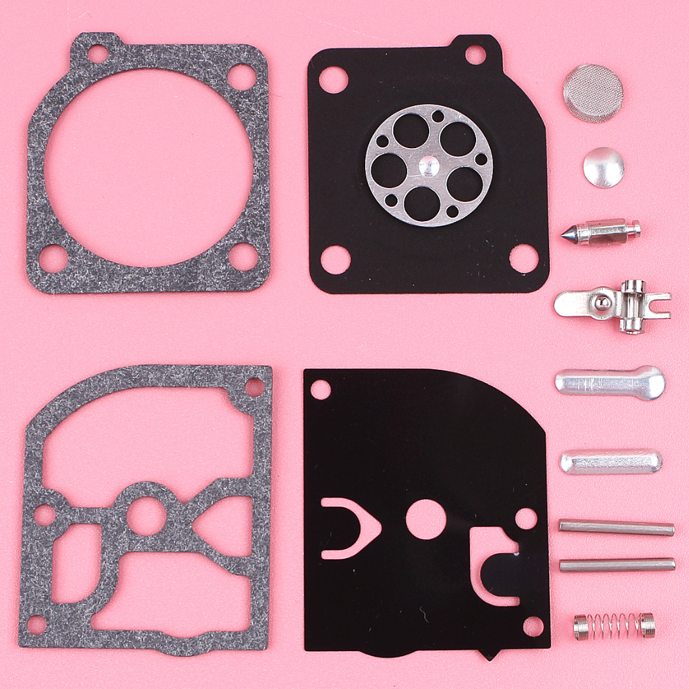 Carburetor Diaphragm Rebuild Repair Kit For Husqvarna 136 137 141 142 Zama RB 137 Chainsaw Part