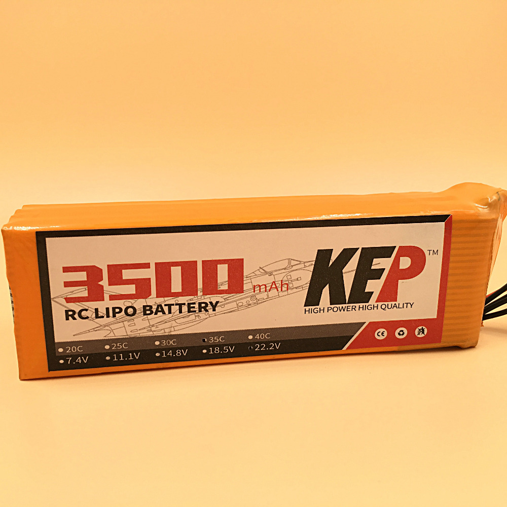 KEP RC LiPo Battery 14.8V 3500mAh 40C Max 80C 4S Li-Poly Battery For RC Aircraft Helicopters Quadcopter Boats Car Drones 4S AKKU
