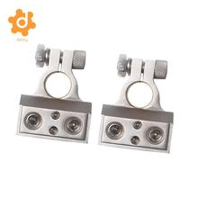 1 Pair 1/0 & 8 Gauge Positive Negative Battery Terminal Clamp Connector(China)