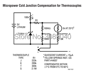 Image 3 - LT1004 LT1004CS8 1.2 LT1004CS8 2.5 LT1004IS8 1.2 LT1004IS8 2.5 MicroPower แรงดันไฟฟ้าอ้างอิง
