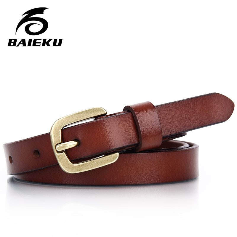 BAIEKU Cinturones de mujer Cintura delgada con falda y pantalón - Accesorios para la ropa