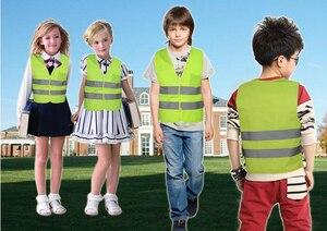 Image 5 - High Visibility Pupil Child Student Kids Reflective Traffic Vest Scooter Cycling Safety Vest Jacket Children Road Reflect Vests