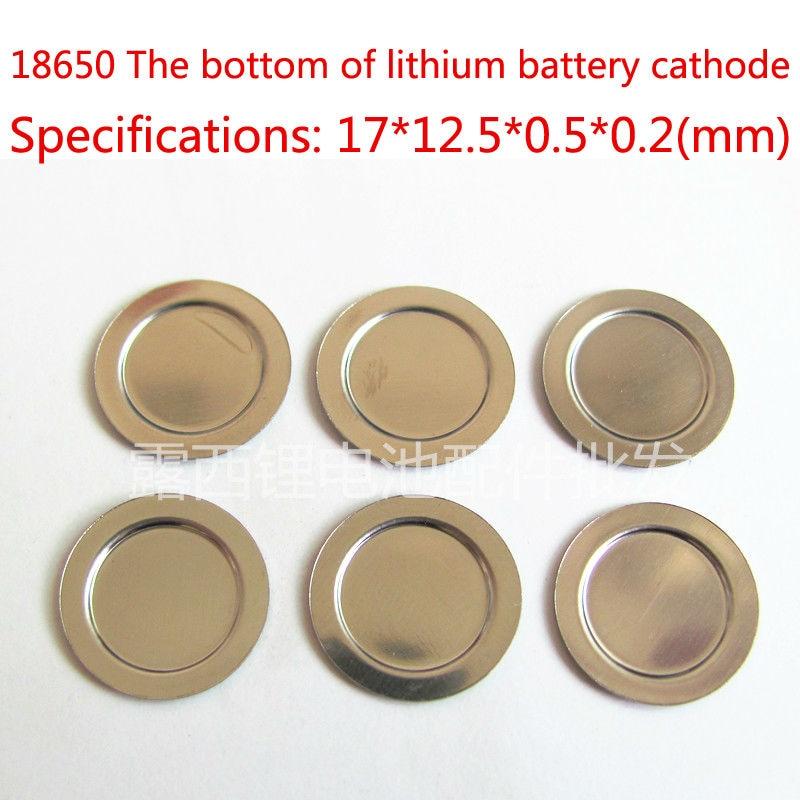 100 pçs/lote 18650 blocos de ânodo da bateria de lítio-ion é negativo da bateria placa protetora da bateria máxima da película filme bloqueado tiros