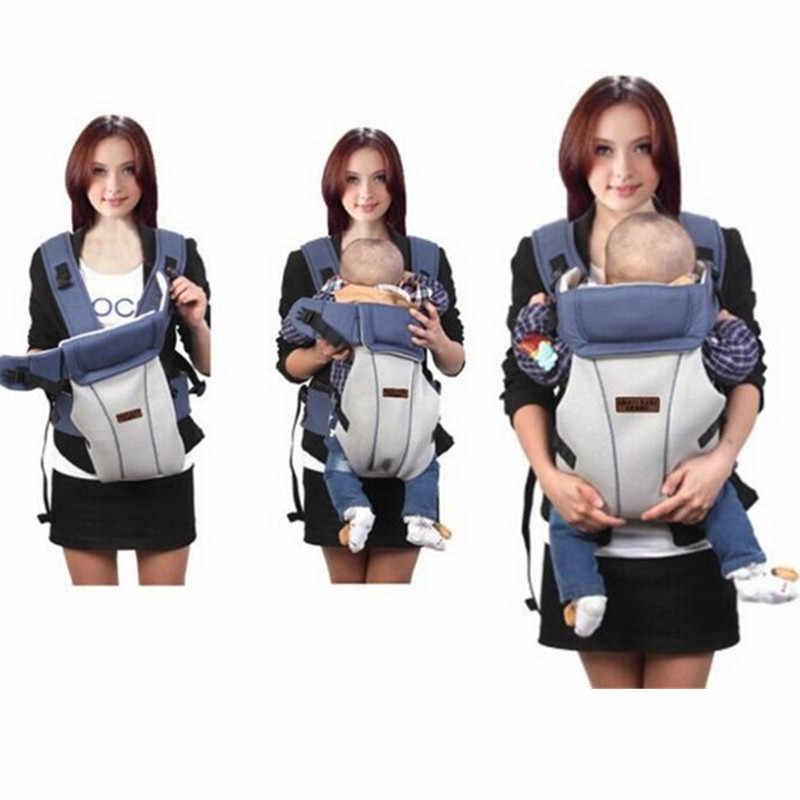Portabebés de 0 a 30 meses transpirable y ergonómico para bebés que lleva por delante a los niños canguro mochila infantil bolsa urdimbre ASIENTO DE CADERA
