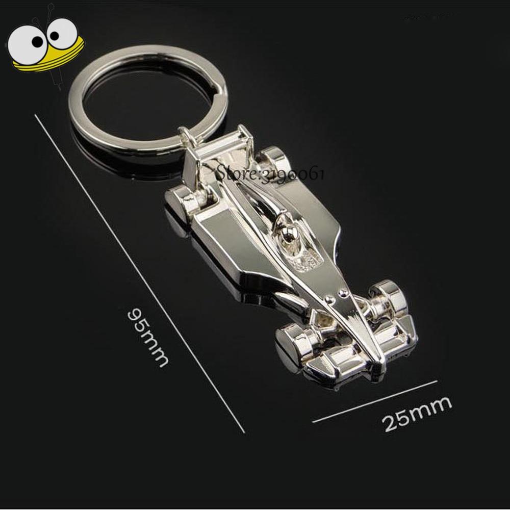 F1 Racing Car Keyring