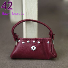 Hazy beauty Doll accessories Fashion Bags Purse Handbag for Barbie 1 6 dolls BBI207