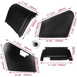 Image 3 - Motorcycle Under Seat Storage Black Body Panels For Honda Ruckus / Zoomer NPS50 Models