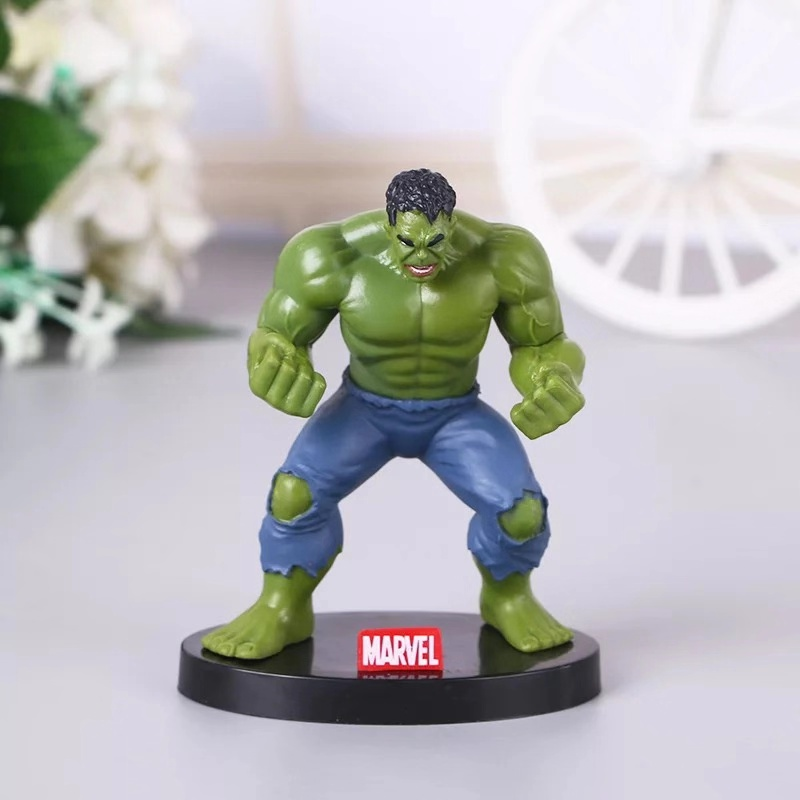 Hot Avengers Incredible Hulk Iron Man Hulk Buster Hulkbuster 10CM PVC Toys Action Figure Hulk Smash