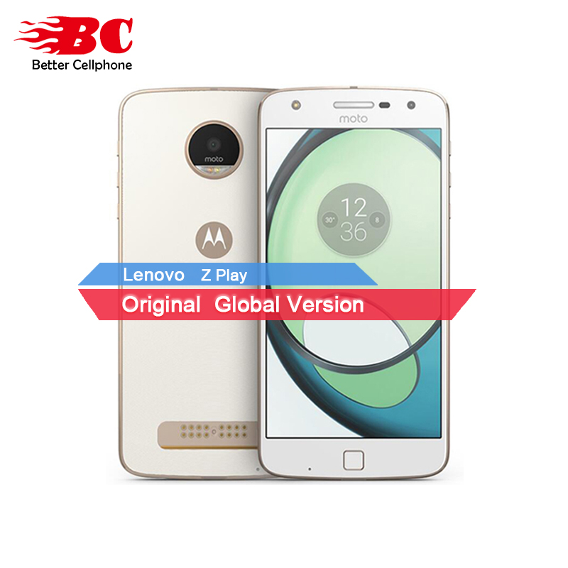 New Original Motorola MOTO Z Play XT1635 03 Octa Core Qualcomm 64G ROM 5 5 Android