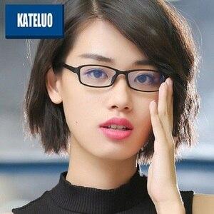 Image 2 - KATELUO 2020 여성 컴퓨터 고글 안티 블루 라이트 레이저 피로 방사선 방지 안경 안경 프레임 여성 13021
