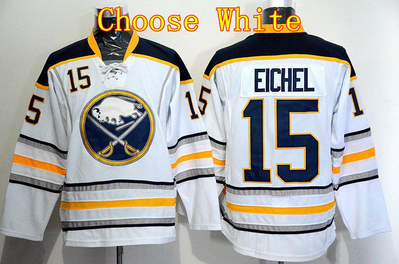 205f0f645 2015 16 Mens 15 Jack Eichel Jersey Buffalo Sabres Ice Hockey Jerseys Jack  ...