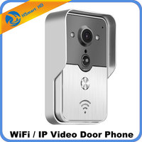Wifi Video Door Phone Bell Wireless Intercom Support POE Power Supply Wifi 3G IOS Android For