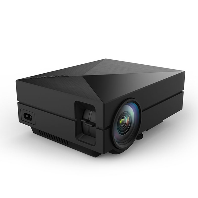 1000LM GM60 Мини СВЕТОДИОДНЫЙ Проектор 3D Проекторы Full HD 1080 P LCD AV USB HDMI VGA SD Мини Главная Видео Proyector Экран ТВ проектор