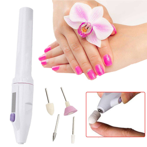 Image 5 - Ensemble de vernis à ongles électrique Portable pratique, outil de polissage des ongles, outil personnel de manucure et pédicure