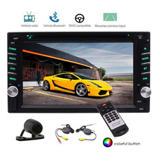 "EinCar Car Radio Stereo System Double 2 Din Automotive DVD Player in Dash 6.2"" Autoradio Bluetooth Stereo +Wireless Rear Camera"