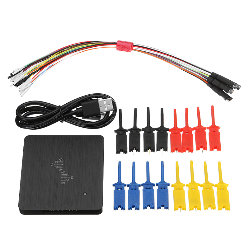 1Set DSLogic Logic Analyzer 16 Channels 400M Sampling USB based Debugging Logic Analyzer