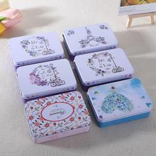 Colorful mini tin Metal box Sealed jar packing boxes jewelry