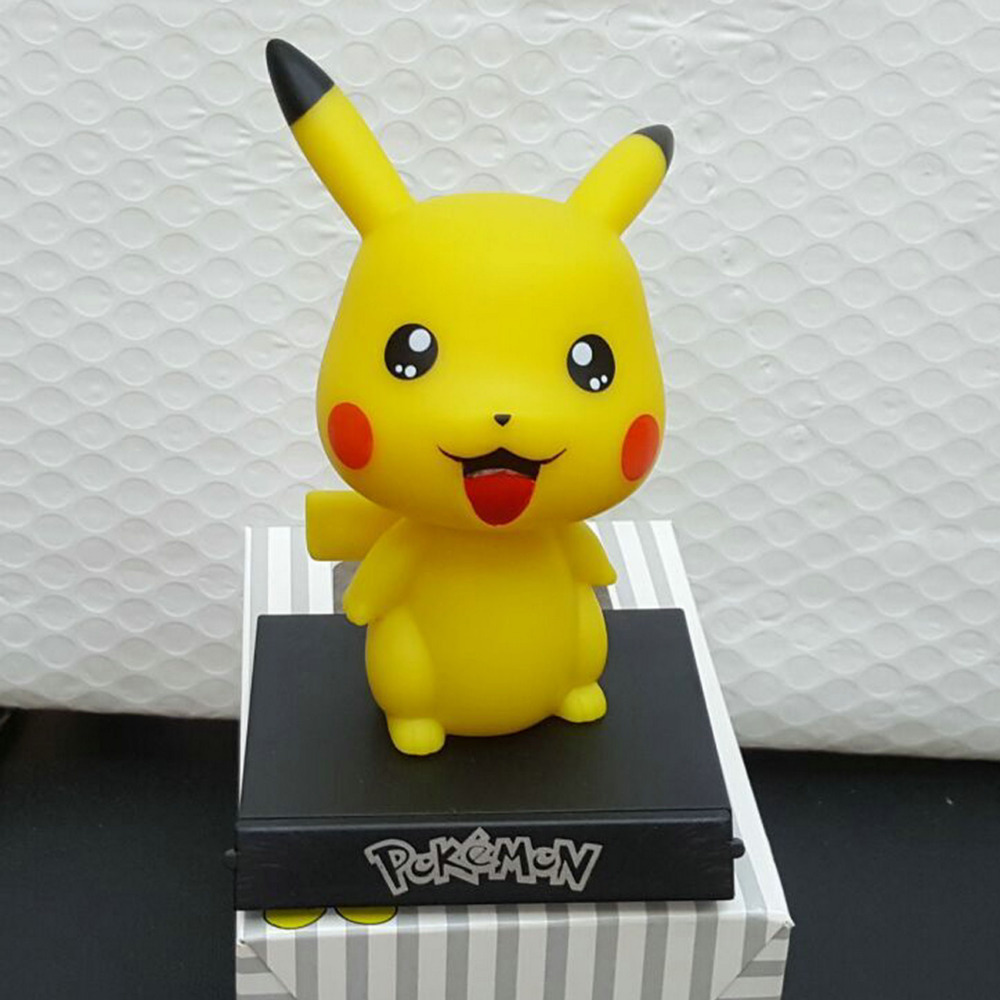 Anime Pocket Monster Detective Pikach0 Figurine Use Cute Expression Making Figure Action Toy Figures Model Pikach0 Cute Shape in Action Toy Figures from Toys Hobbies