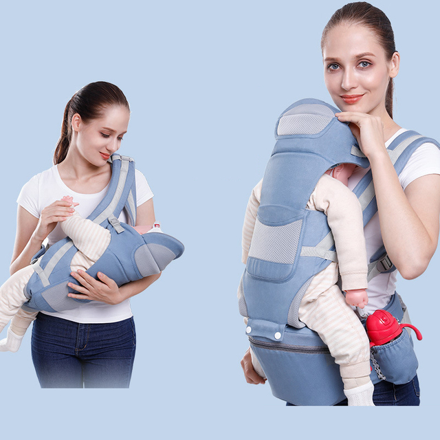 New Baby Carrier  Hipseat Breathable 360 Front Facing Multifunction for mummy gear Sling Backpack Newborn  Pouch Wrap Kangaroo