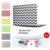 Chevron wave patrón caso duro de la cubierta para macbook air 11 13 pro 13 15 Retina 12 13 15 pulgadas bolsa de Ordenador Portátil para Mac Book pro 13 caso