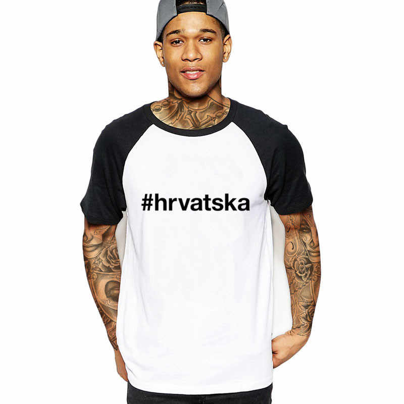 e7c8dfa8c7 2018 Funny CROATIA Men's T-Shirt CROATIA flag russia soccers tops brand  logo male tshirt