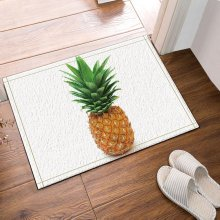 pineapple bath rugs bathroom entryways outdoor indoor front door mat 60x40cm