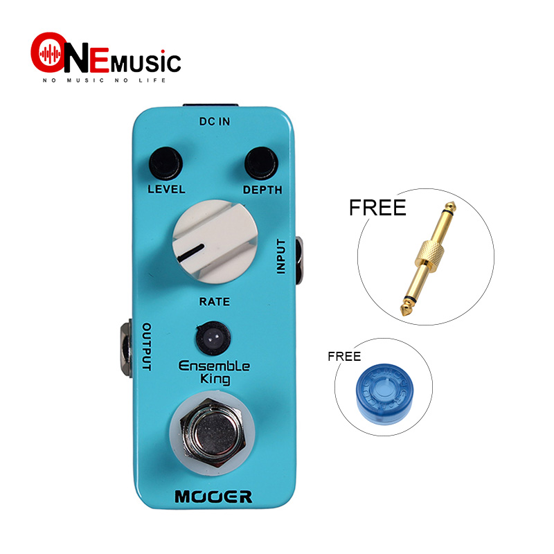 MOOER Micro Ensemble King Chorus Sound Compact Effect Guitar Pedal True bypass with pedal Connector