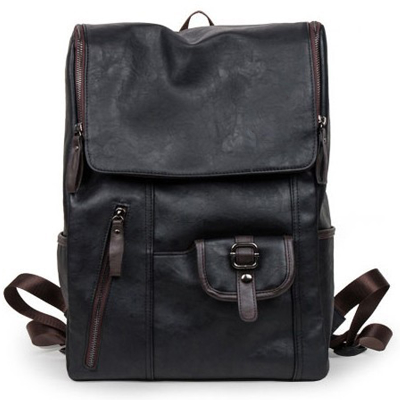 Imperméable à l'eau femmes sacs à dos en cuir hommes sacs décontracté voyage casual Daypacks sac à dos Mochilas école Batoh portefeuille école pour adolescents