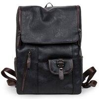 Waterproof Women Backpacks Leather Men Travel Bags Casual Daypacks Rucksack Mochilas School Batoh Portfolio School for Teenagers