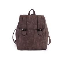 Бесплатная доставка новая мода марка женщины рюкзак дамы одиночный мешок плеча мешок школы высшего искусственная кожа bolsa feminina оптовая