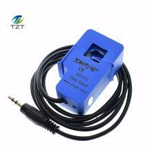 Capteur de courant alternatif 100A de transformateur de courant alternatif de noyau fendu Non invasif de 5 pièces SCT 013 000