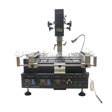 Honton HT R392 BGA welding machine 3 temperature zones infrared & hot air soldering station to Russia free tax