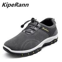 Kiperann esportes ao ar livre tático sapatos de acampamento caminhadas dos homens luz respirável sapatos de caminhada 2018 sapatos masculinos