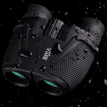 12 x 25 HD Night Vision Binoculars Telescope BIJIA Porro BK4 Prism Waterproof 83m / 1000m Ultra-clear Telescopes Hunting Travel
